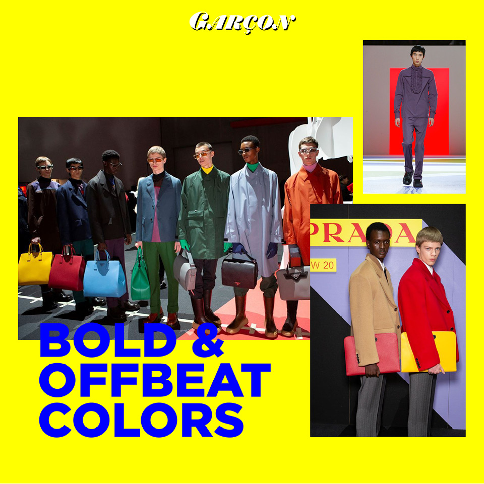 Bold & OffBeat Colors