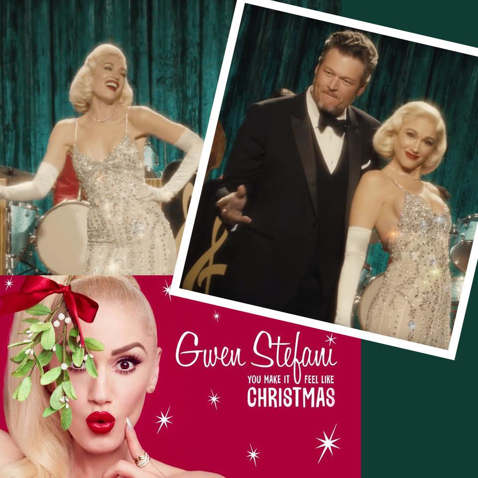 Gwen Stefani - You Make It Feel Like Christmas ft. Blake Chelton