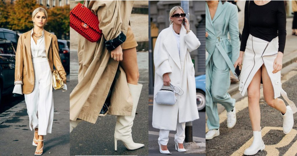 White shoes so chic