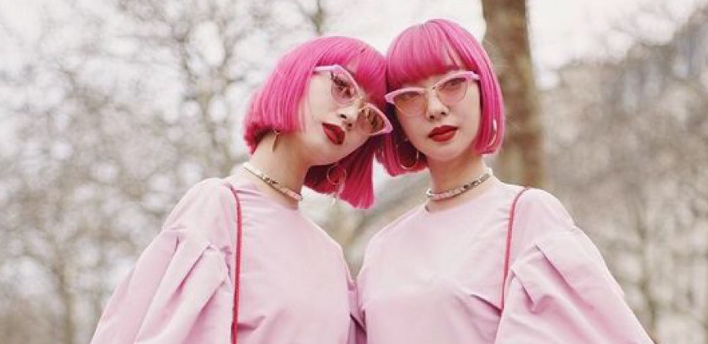 Colourful Twin Sisters