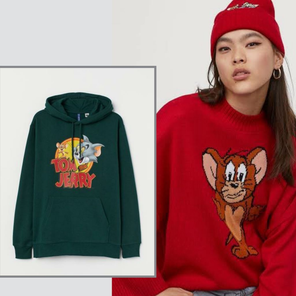 H&M x TOM and JERRY