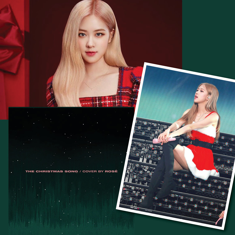 Rosé Blackpink - The Christmas Song (Nat King Cole Cover)