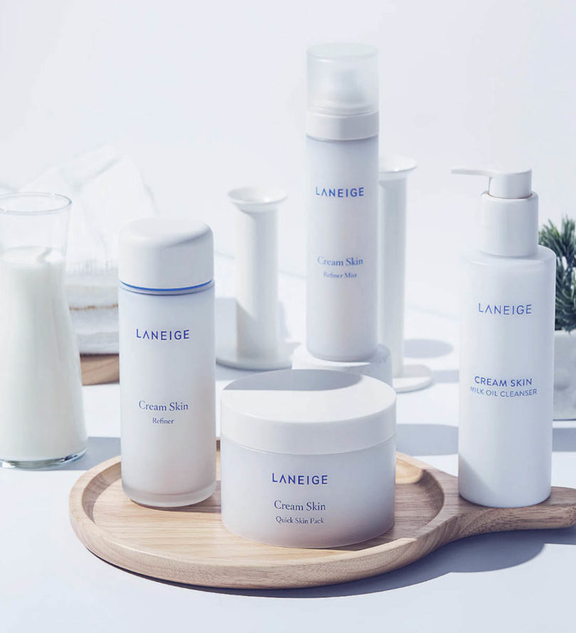 Laneige พัฒนากลุ่มผลิตภัณฑ์ Cream skin แบบ Quick Care