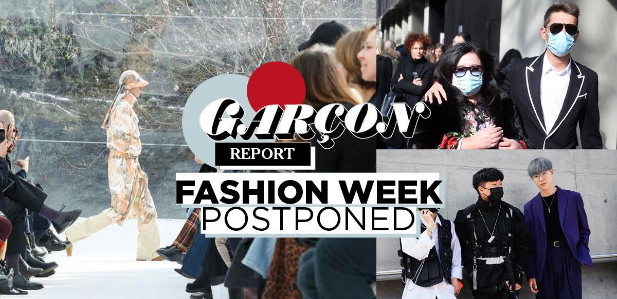 Fashion Week Postponed