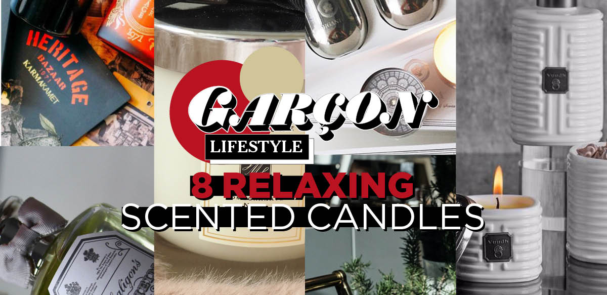 8 Relaxing Scented Candles