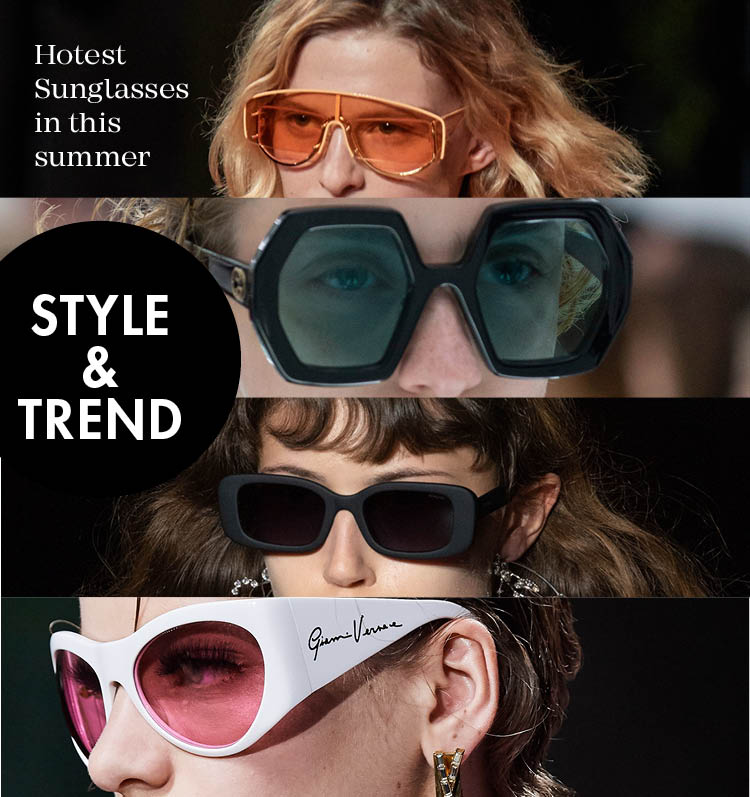 Hotest Sunglasses in this summer