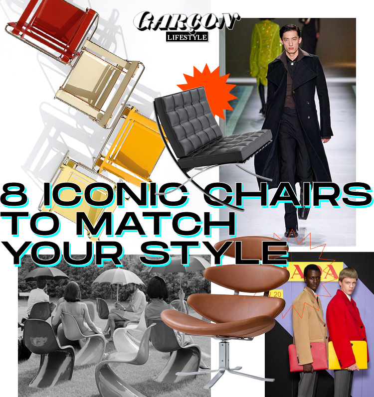 8 Iconic Chairs to Match your Style