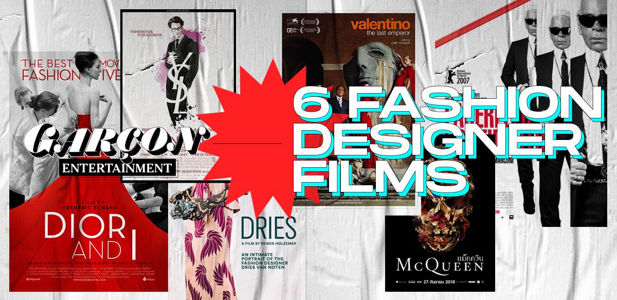 6 Fashion Designer Films