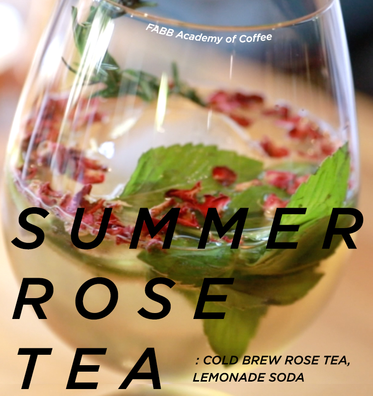 SUMMER ROSE TEA by FABB AOC