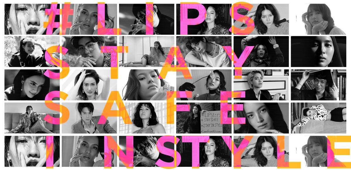 #LIPSSTAYSAFEINSTYLE on LIPS Magazine
