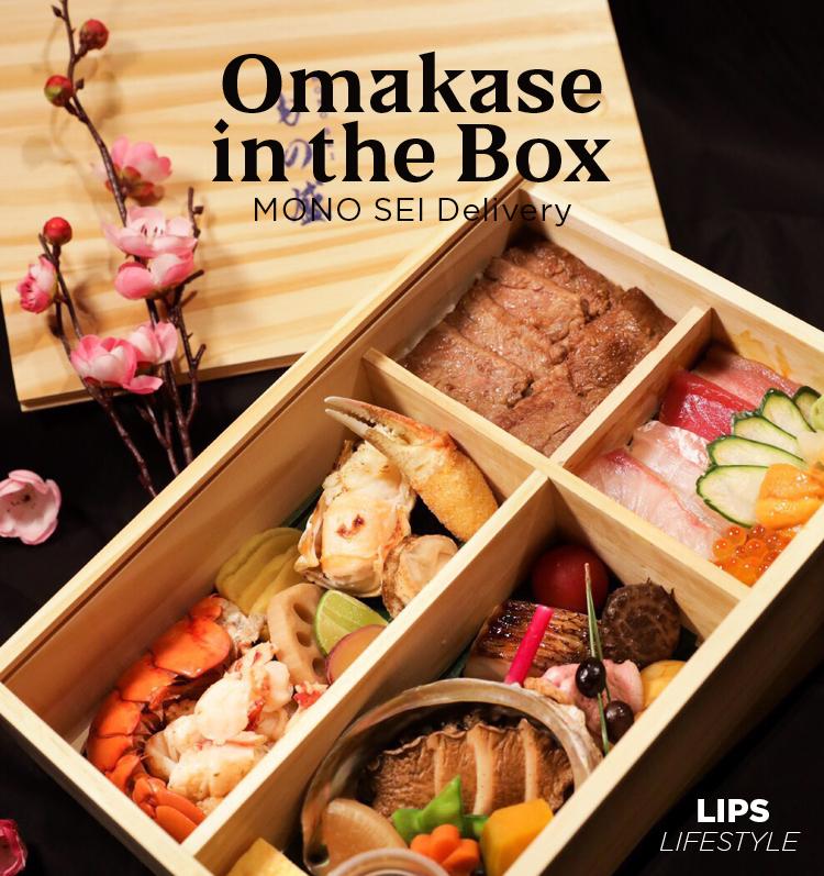 Omakase in the Box MONO SEI Delivery