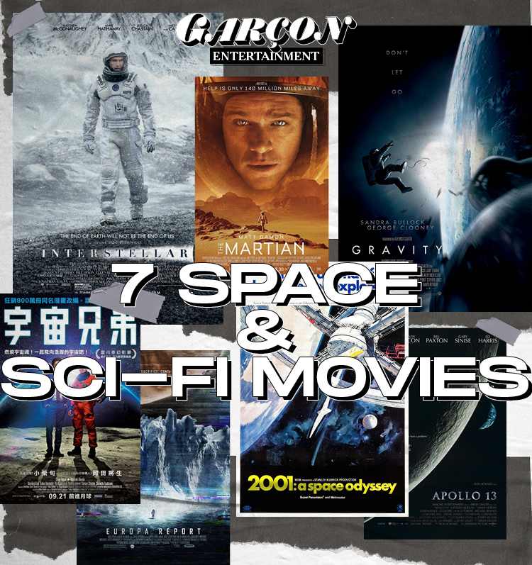 7 Space & Sci-fi Movies