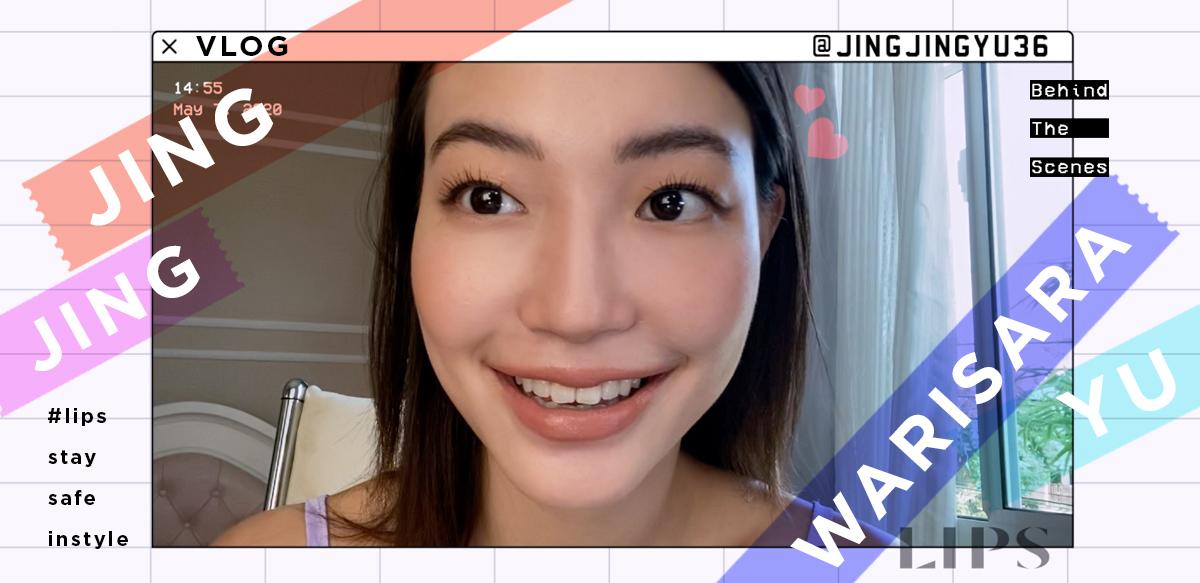 #LipsStaySafeInStyle l Put on make-up with JINGJING