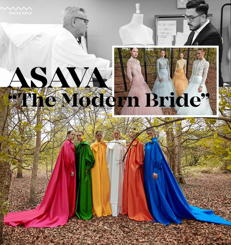 "ASAVA ""The Modern Bride"""