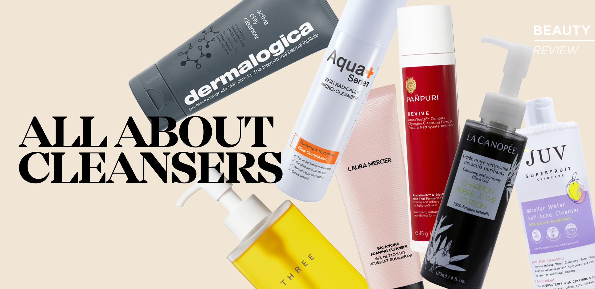 ALL ABOUT CLEANSERS