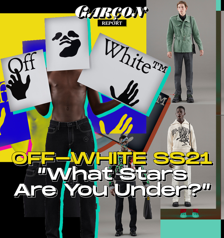 "Off-White SS21 ""What Stars Are You Under?"""