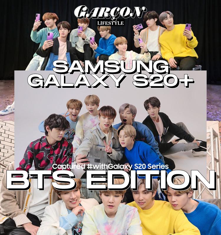 Samsung Galaxy S20+ BTS edition