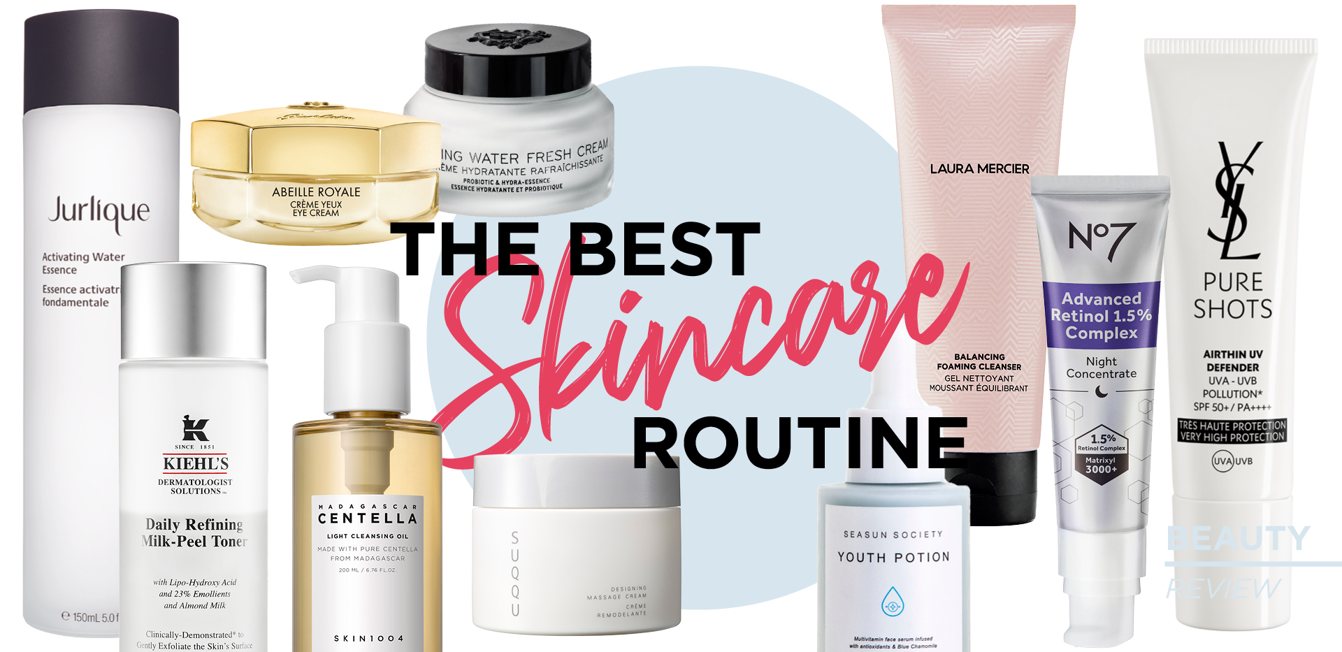 THE BEST SKINCARE ROUTINE