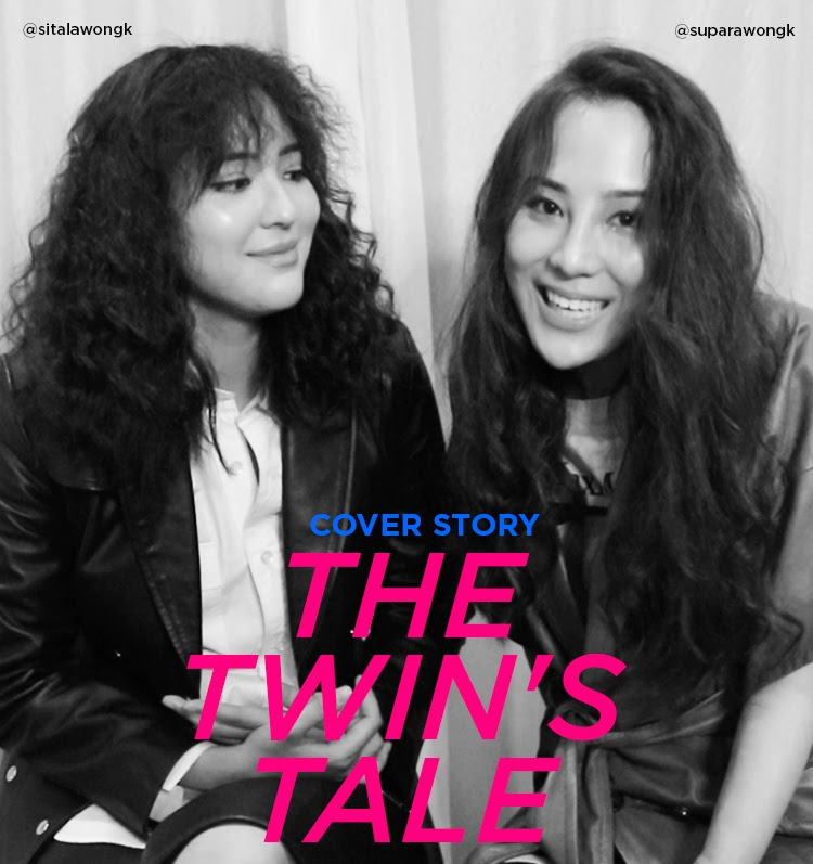 Cover Story : THE TWIN'S TALE