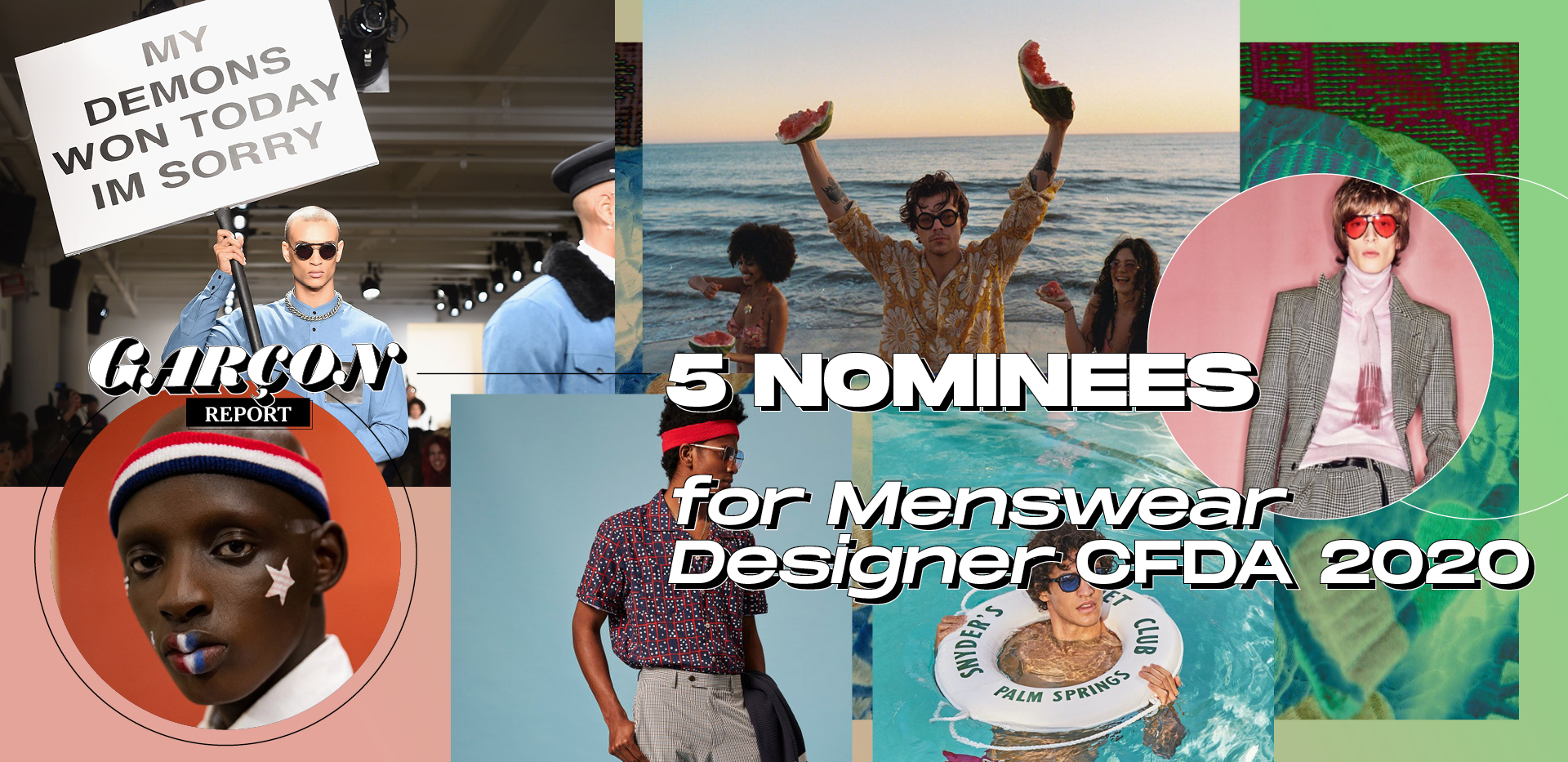 5 Nominees for Menswear Designer CFDA 2020