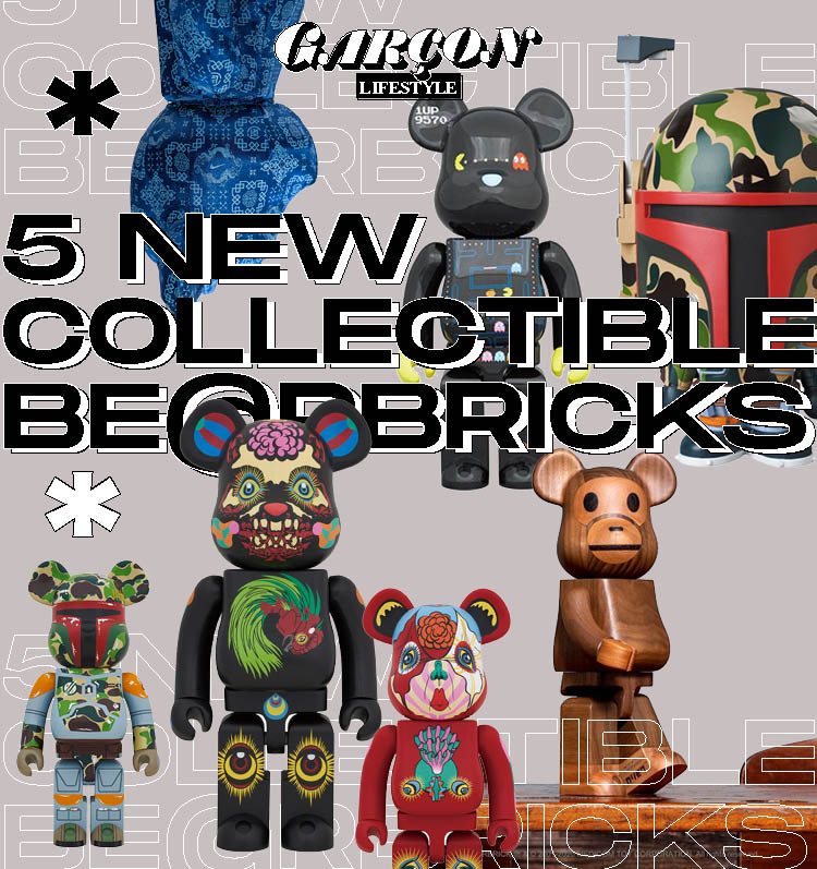5 New Collectible BE@RBRICKS