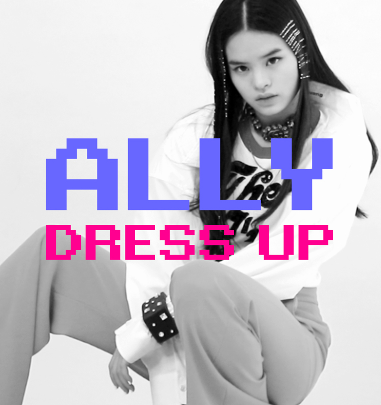 ALLY DRESS UP for LIPS 21st Anniversary