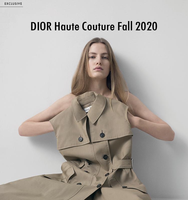 DIOR Haute Couture Fall 2020