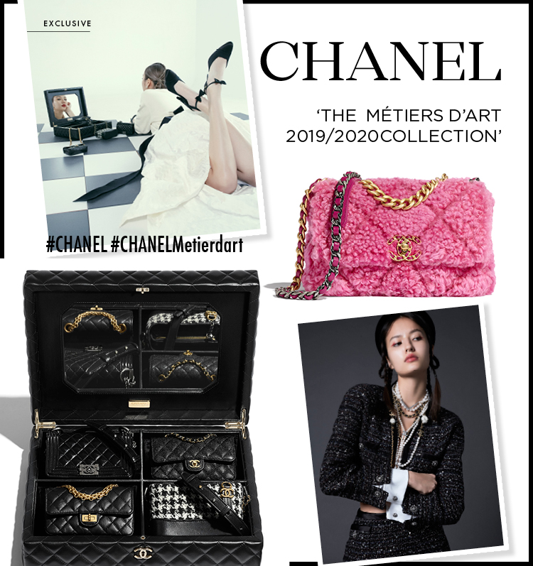 CHANEL 'THE  MÉTIERS D'ART 2019/2020COLLECTION'
