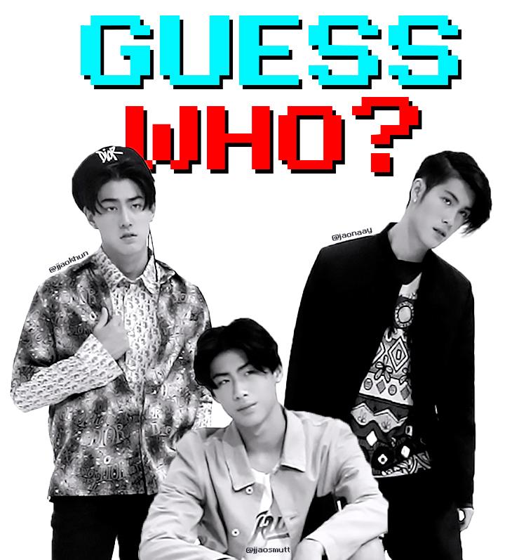 GUESS WHO? : JAONAAY-JAOKHUN-JAOSMUT