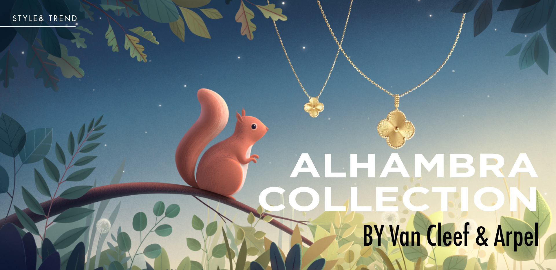 Alhambra collection BY Van Cleef & Arpels