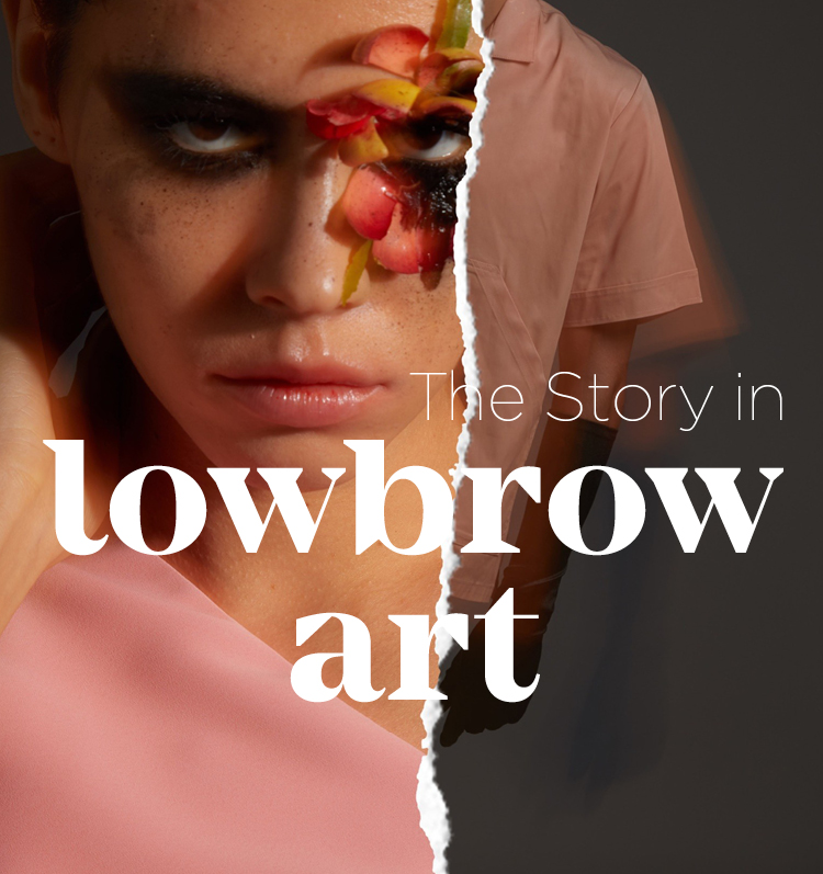 The Story in lowbrow art