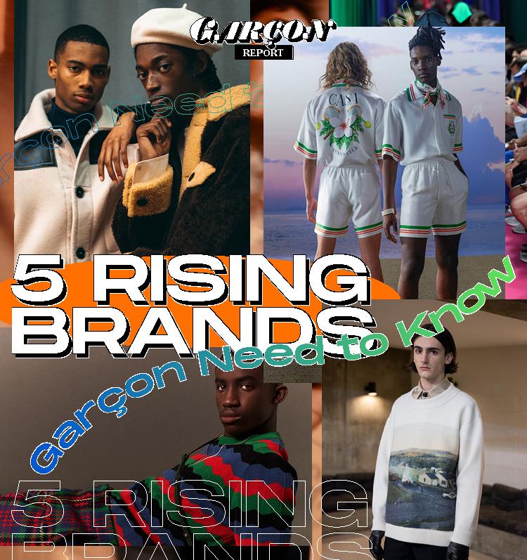 5 Rising Brands Garçon Need to Know