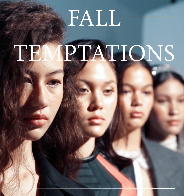 LIPS Magazine cover : FALL TEMPTATIONS