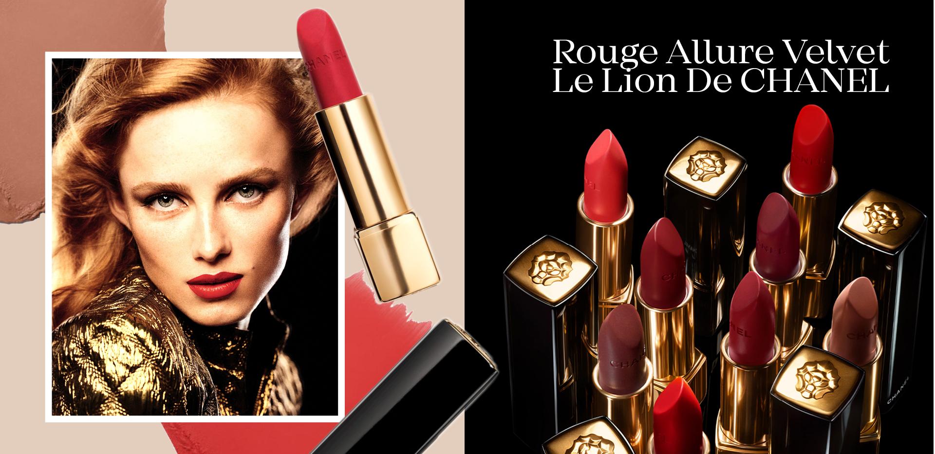 Rouge Allure Velvet Le Lion De CHANEL