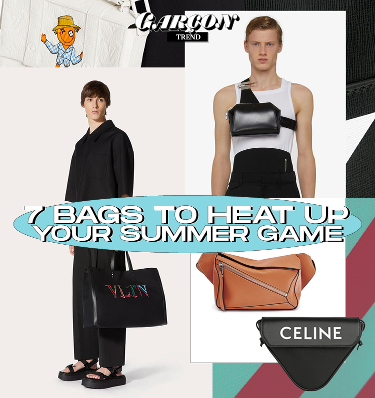 7 Bags to Heat Up Your Summer Game