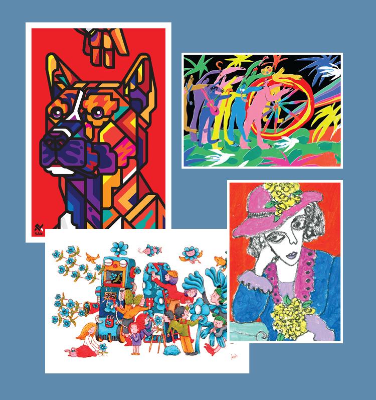 """Art in Postcards"" โปรเจคระดมทุนสนับสนุนหอศิลป์ฯ"