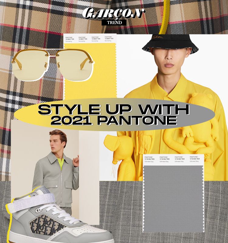 Style up with 2021 Pantone