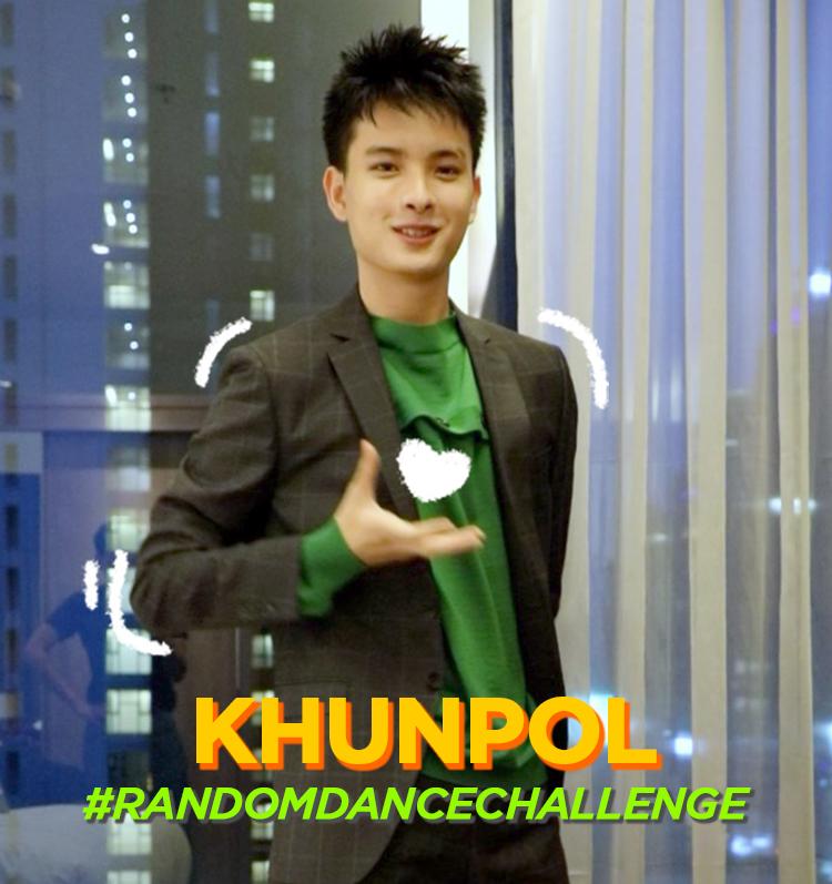 #RandomDanceChallenge with KHUNPOL