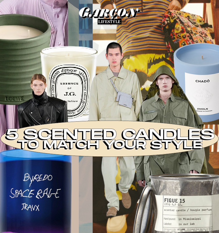 5 Scented Candles to Match Your Style