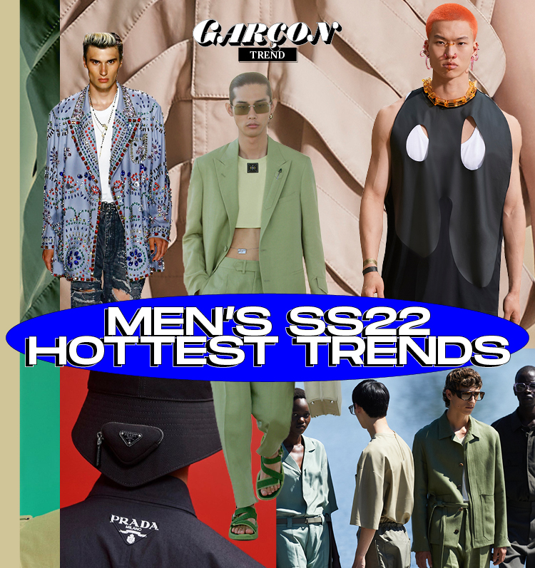 Men's SS22 Hottest Trends