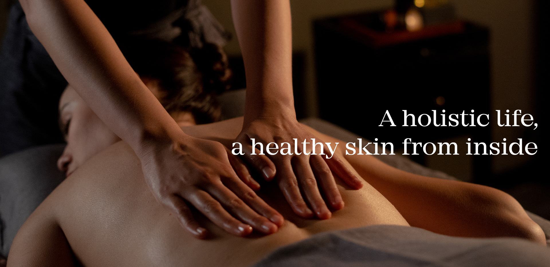 A holistic life, a healthy skin from inside